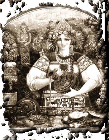 Макошь богиня Славянская Славян 1