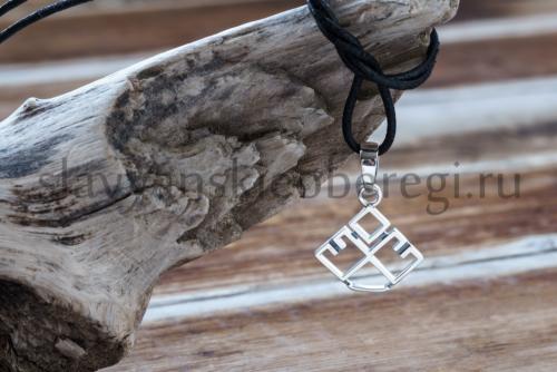 славянские обереги Лельник из серебра купить