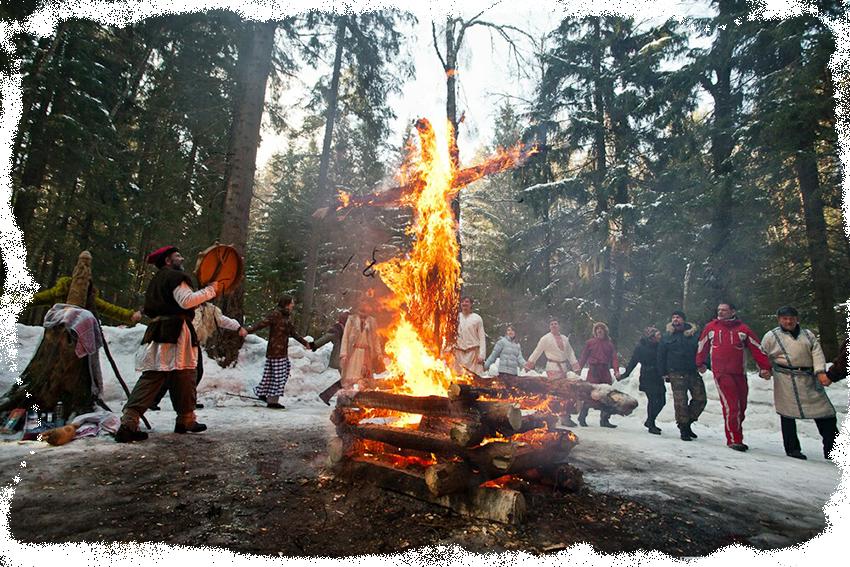 слаянский праздник навий день 1 марта сжигание марены богини