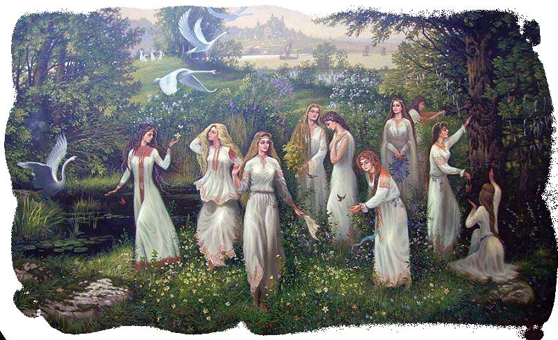 22 апреля в праздник Лели или как его еще называли дня Красной горки.. молитвы девиц леле