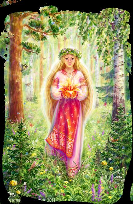 Славянскаяя богиня Леля