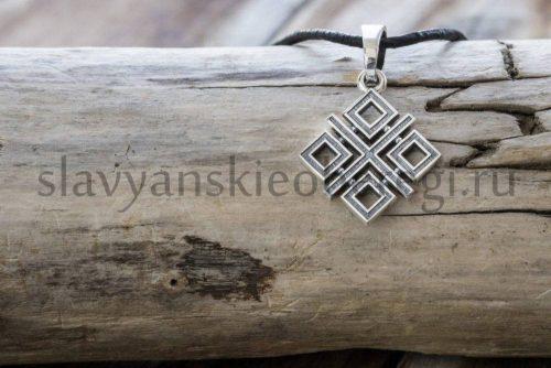 Славянский оберег Макошь из серебра (1)