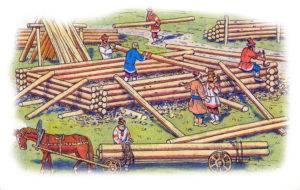 Обряд строительства дома
