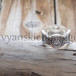 Перстень Валькнут. Серебро 925 пробы (2)