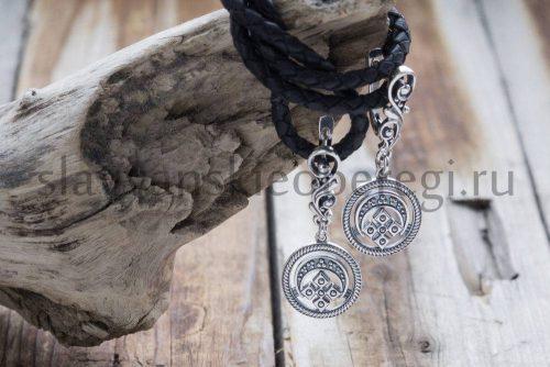 Серьги Лунница. Серебро 925 пробы (2)