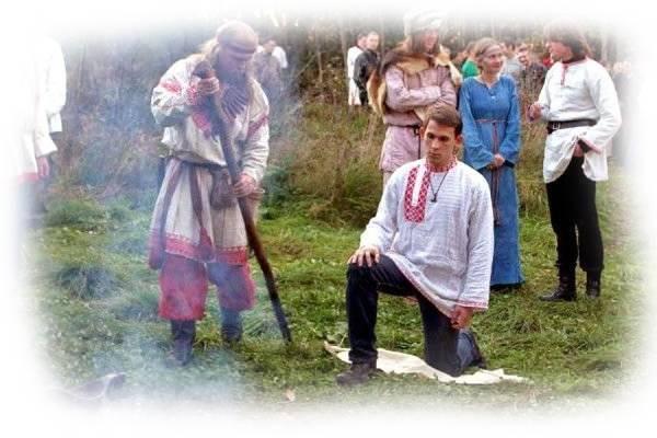 Славянские обряды. радение славян (1)