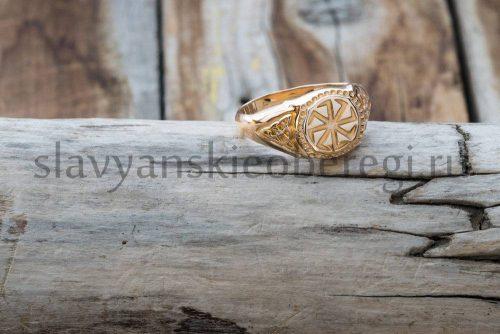 Кольцо Коловрат. Золото 585 пробы. Средний вес 8 гр. Размер любой. Цена около 21500, зависит от размера (1)