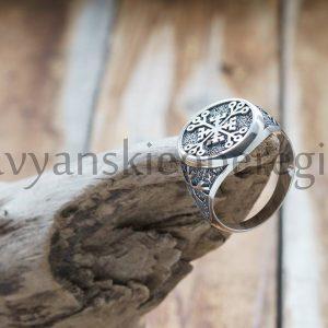 Перстень Крес Непобедимости. Цена 2500р. Серебро 925 пробы. (1)