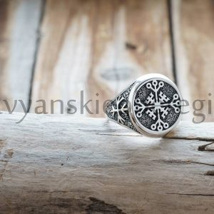 Перстень Крес Непобедимости. Цена 2500р. Серебро 925 пробы. (2)