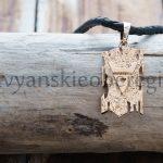 Славянский Оберег Символ Велеса на Древе Золото