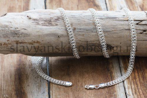 """Цепочка """"Питон"""". Серебро 925, 5 мм ширина. Вес зависит от длины. 14-15 гр. Длина 55-60. Цена 2600р"""