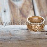 Кольцо Золото Цветок Папоротника