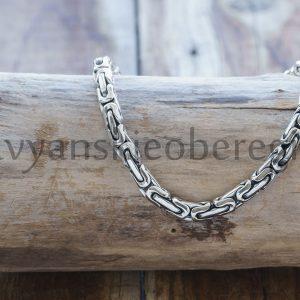 """Браслет """"Византийское плетение"""". Стоимость: 3200 руб. 19-20-21-22 см (около 17-19 гр). Серебро 925 пробы."""