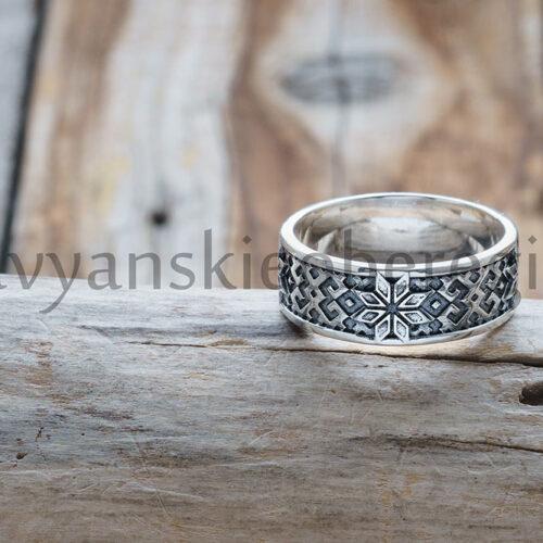 Кольцо Алатырь Серебро