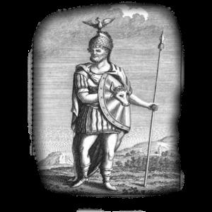 Бог Радогост (более верный вариант Радегаст или Радогаст)
