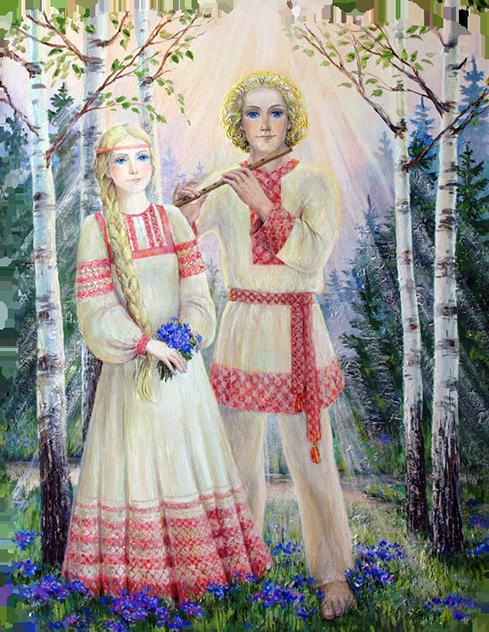 Крышень рядом с Радой супругой его