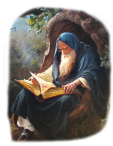 Славяни, Родные боги, Бог читает книгу написанную Рунами