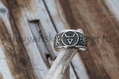 славянские обереги символ велеса перстень из серебра