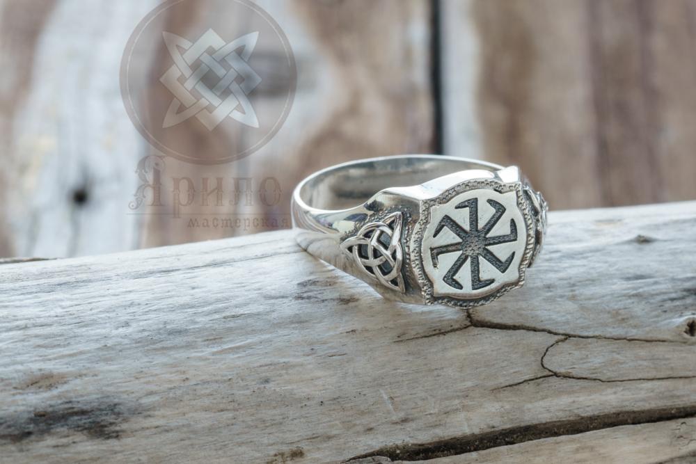 Коловрат перстень Купить салвянский оберег