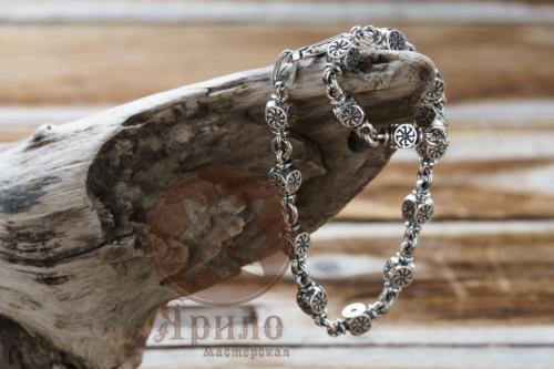 Браслет Коловрат серебро оберег купить