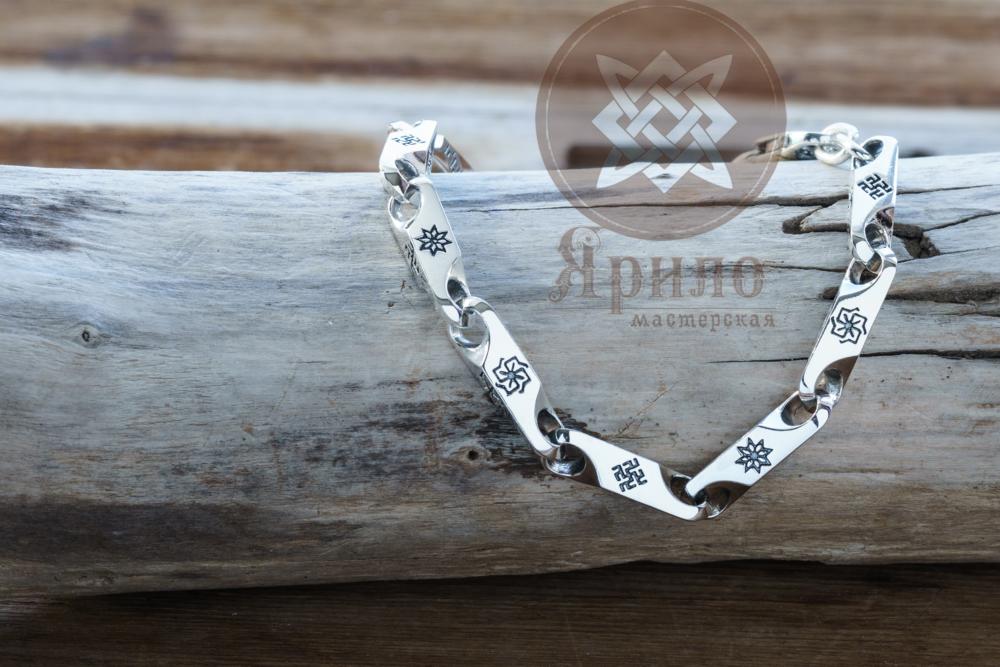 braslet-oberezhnyj-1 Солнечный крест, Алатырь, цветок папоротника, Молвинец, Сварга,