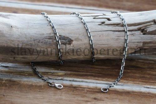 Цепь якорь Цепь-серебрянная-для-кулонов-и-других-изделий-из-серебра-1-1024x683