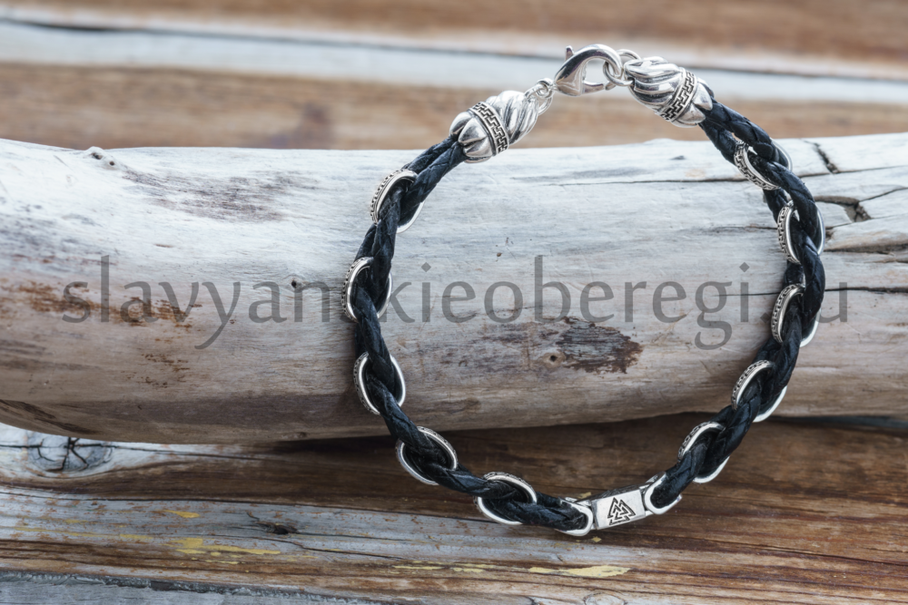 Валькнут браслет из серебра, обереги, обереги (3)