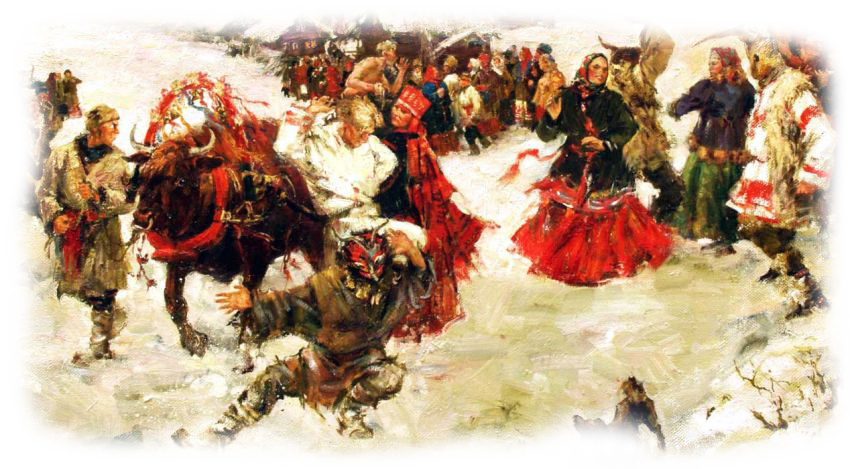 Как проводилось празднование Масленицы древними славянами 2