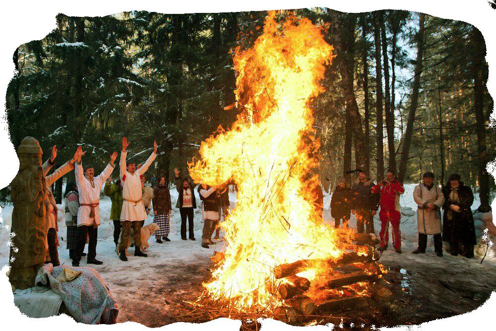 Как проводилось празднование Масленицы древними славянами