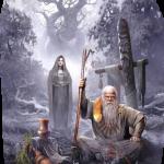 Грудие росное, волхвы и жрецы деревни или поселения возносили свои молитвы языческим богам.