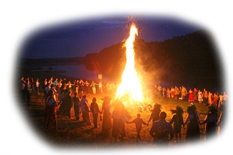 Одним из самых ожидаемых летних языческих славянских праздников было 24 июня день Ивана Купалы большой костер