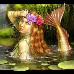 Русальная неделя или как ее еще называли Русалии. Начиналась она 19 июня по 24 июня мифическое существо русалка