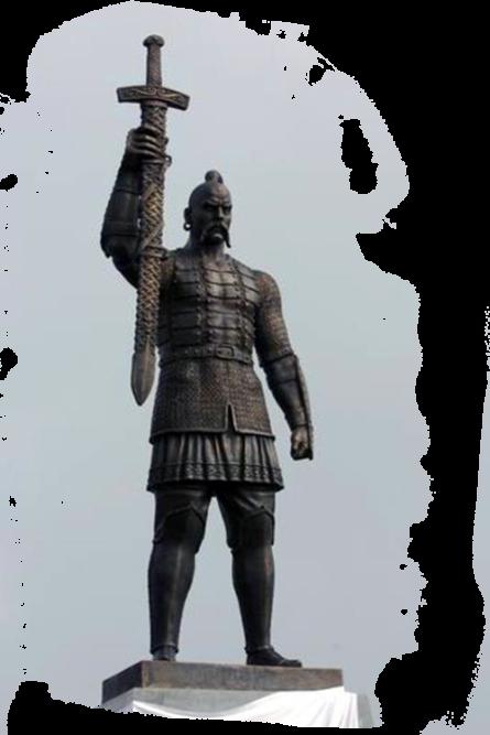 3 июля – День памяти Великого Святослава языческий Князь. Памятник