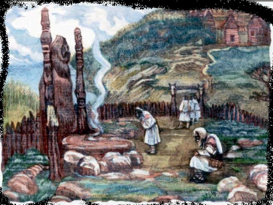 на капише, славянский праздник Макоши-Пятницы