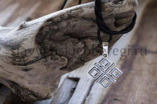 Славянский оберег Макошь из серебра (2)