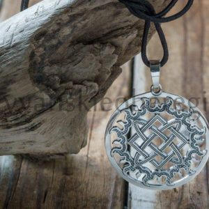 Мастерская ярило оберег из серебра Звезда лады (1)