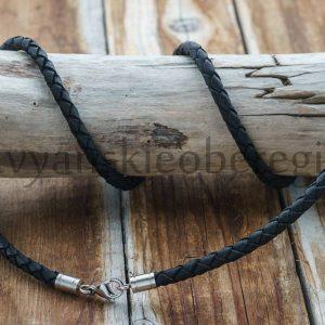 Кожаный шнур Гайтан, толстый 5 мм, прочный, натуральная кожа (2)