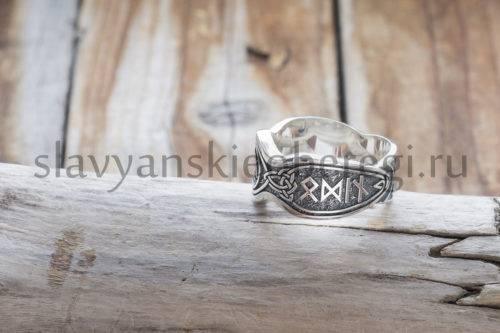 Перстень Валькнут. Серебро 925 пробы (3)