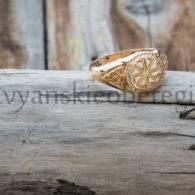 Кольцо «Коловрат» Золото