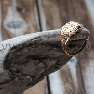Кольцо Коловрат. Золото 585 пробы. Средний вес 8 гр. Размер любой. Цена около 21500, зависит от размера (2)